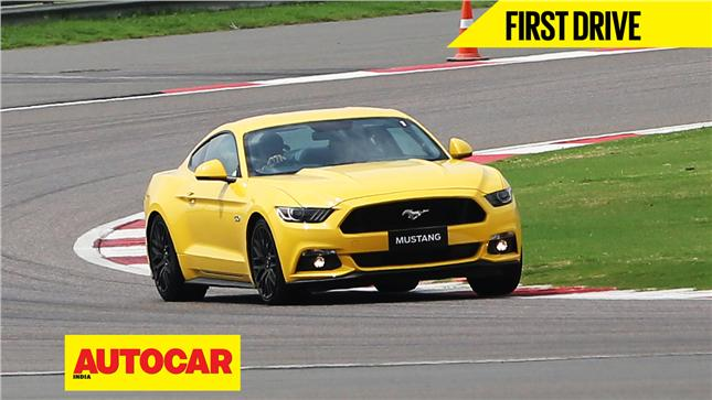 Ford Mustang GT video review