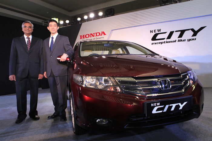 Facelifted Honda City launched