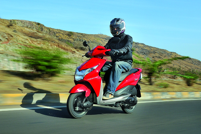 New Honda Dio review, test ride