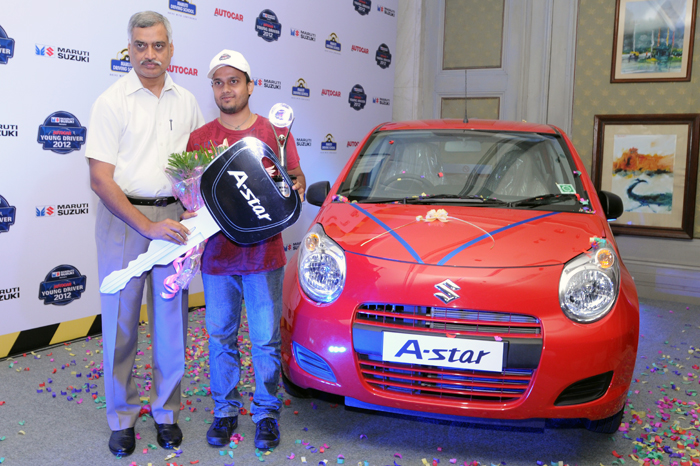 Sudeep Mishra Is Young Driver 2012 Car News Others