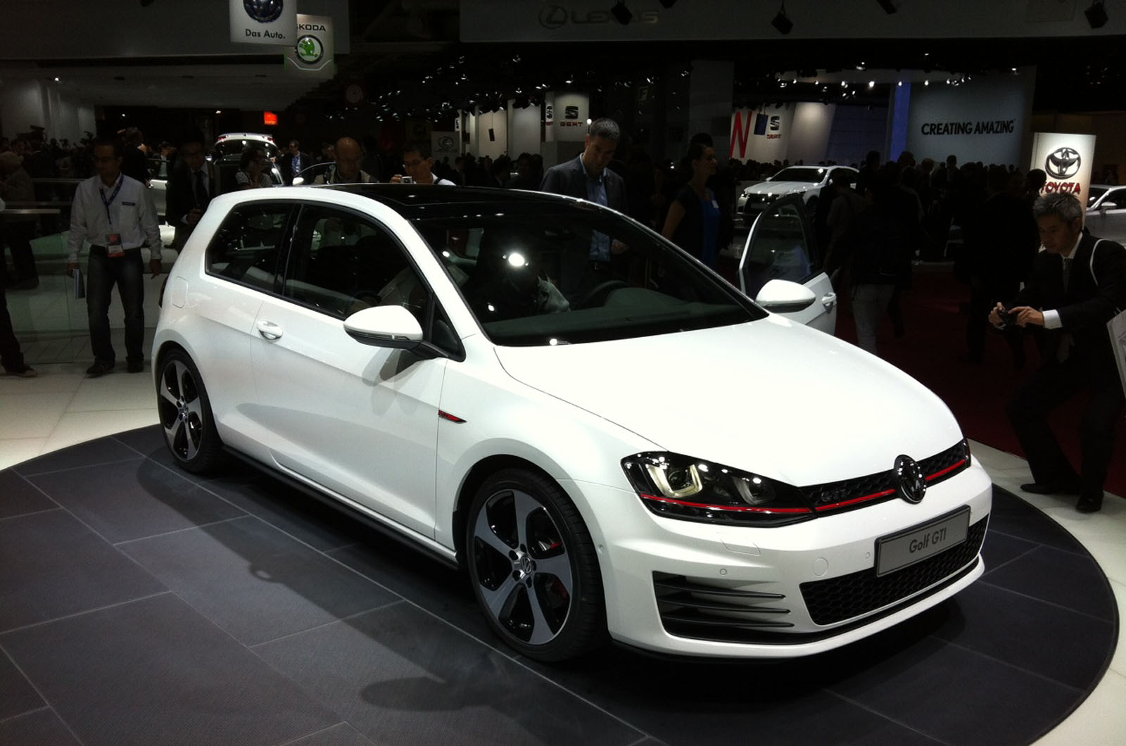 Vw Shows New Golf Gti Car News Premium Hatchbacks