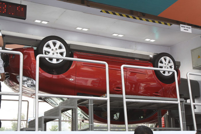 Nissan's safety initiative in India