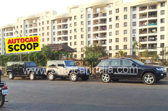 SCOOP! Jeep's India line-up spotted