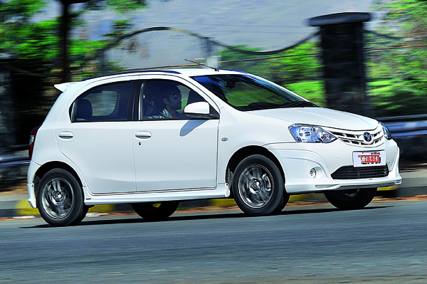 Toyota Liva Review 1 5 Petrol Sportivo Cars First Drive