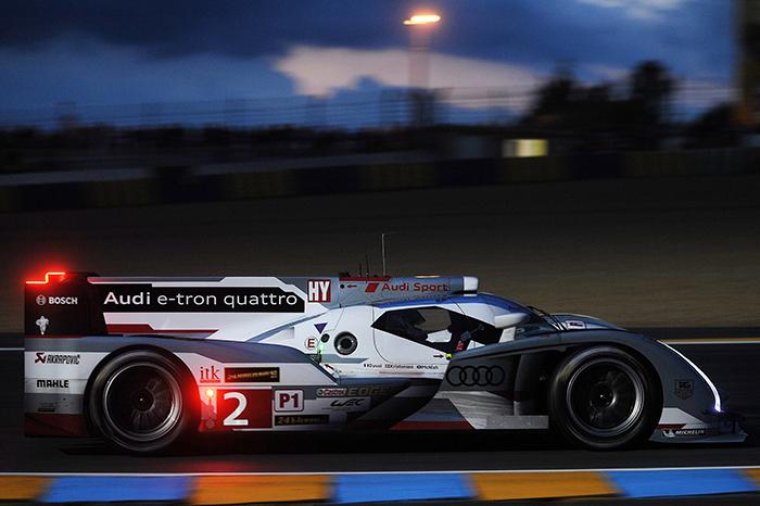 Le Mans: Audi on provisional pole