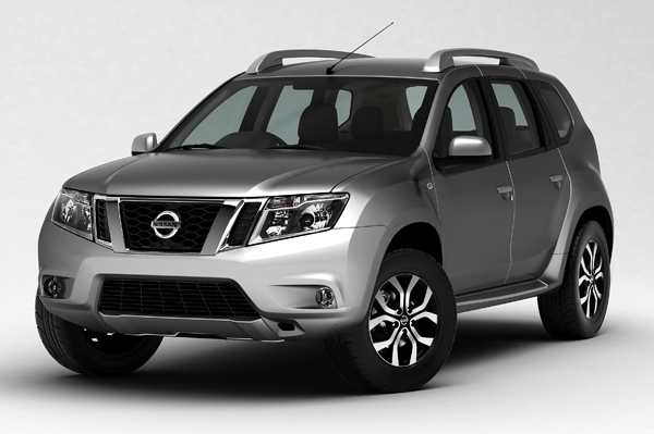 nissan terrano gets optional third row seat car news budget suvs autocar india. Black Bedroom Furniture Sets. Home Design Ideas