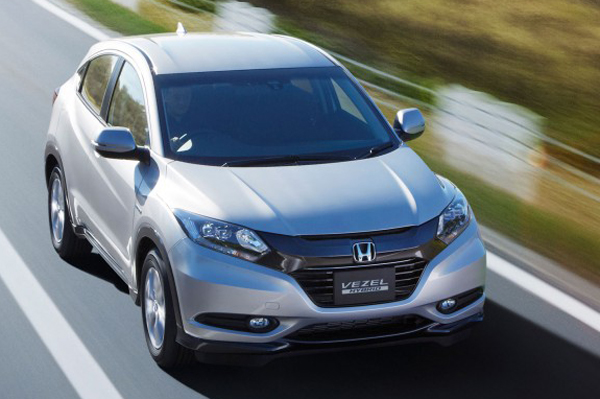 new honda vezel compact suv revealed car news suv crossovers autocar india. Black Bedroom Furniture Sets. Home Design Ideas