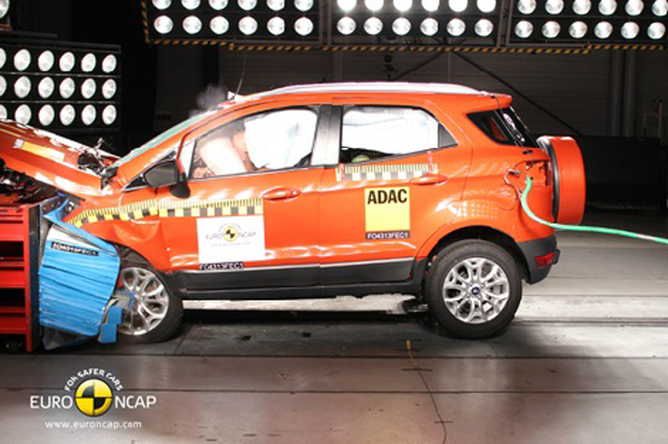 Ford EcoSport, BMW i3 get four-star safety rating