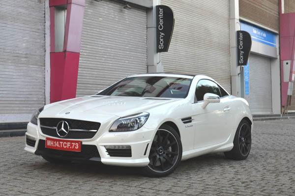Mercedes benz slk review 55 amg cars first drive for Mercedes benz slk 55 amg special edition