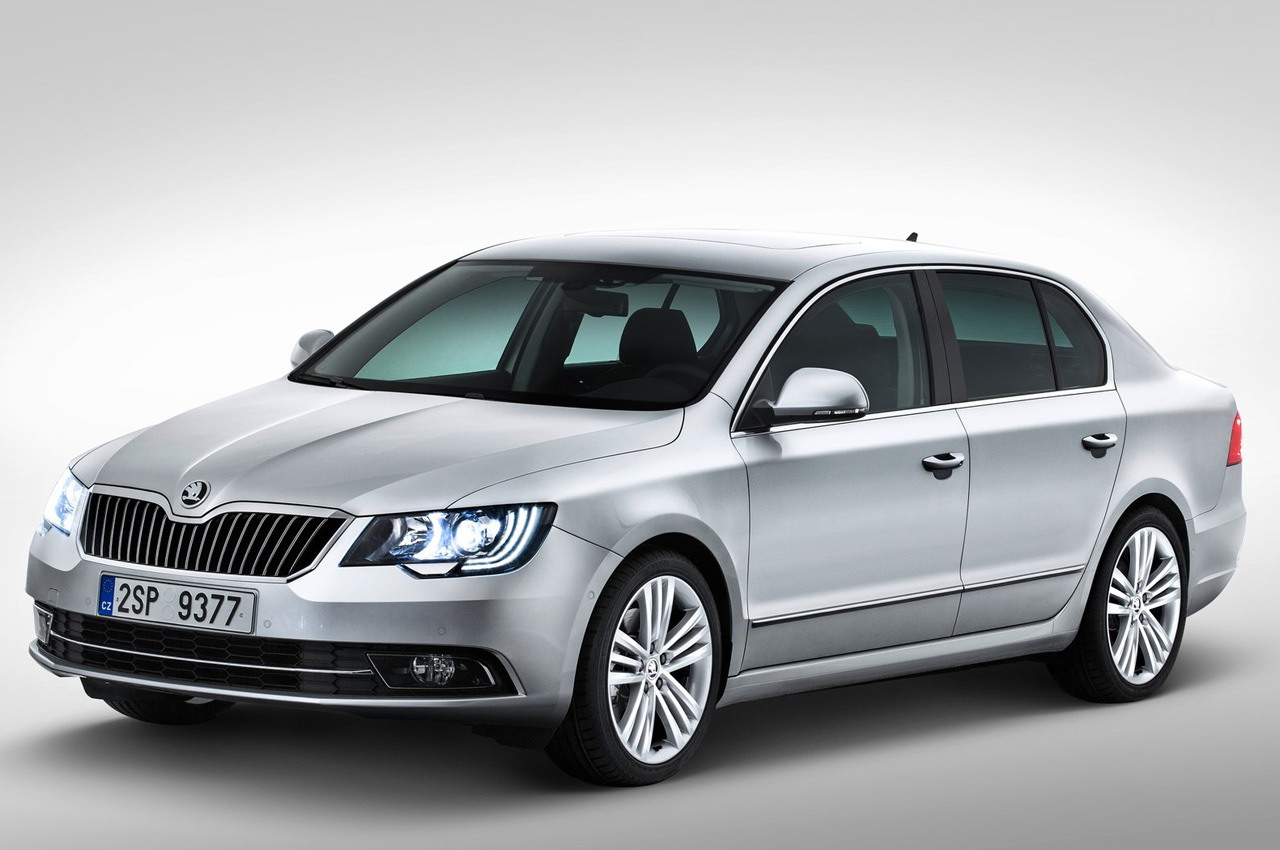 skoda superb facelift coming soon car news luxury saloons autocar india. Black Bedroom Furniture Sets. Home Design Ideas