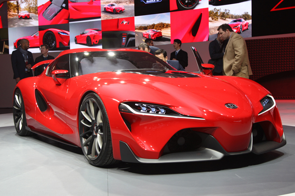 Toyota Unveils ft 1 Sports Car
