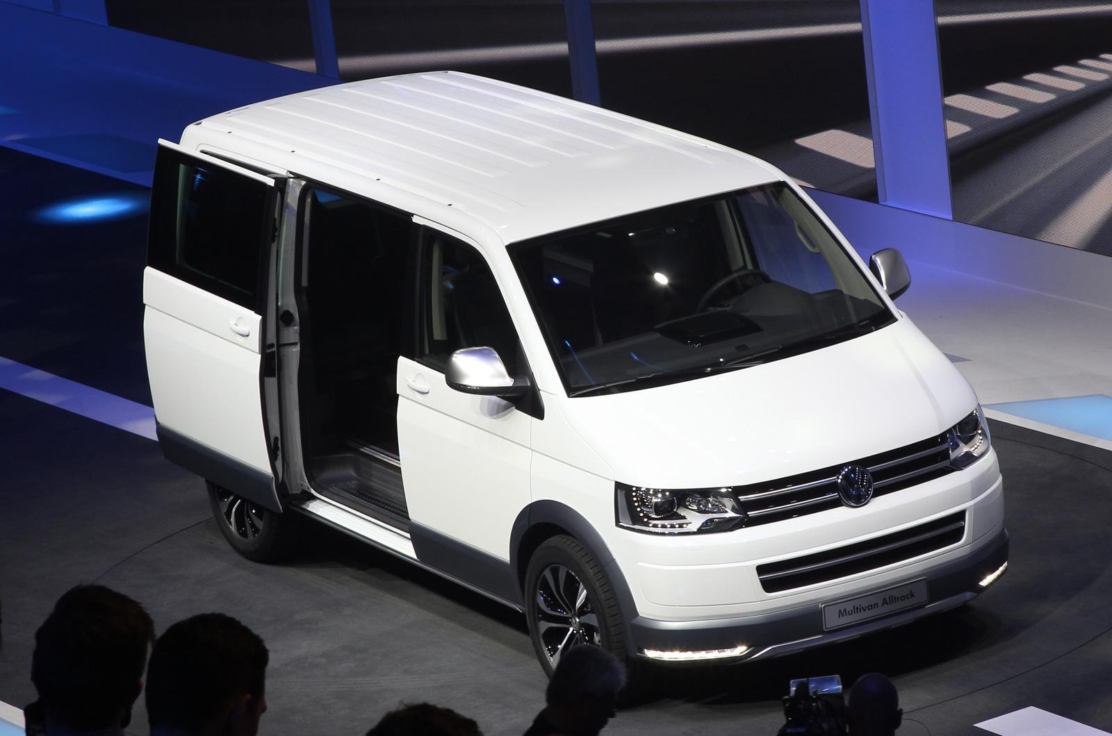 Geneva 2014: Volkswagen Transporter 'Alltrack' revealed | Car News