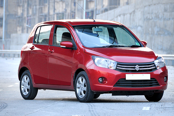 The Celerio has the most free revving engine and is well suited to city traffic.