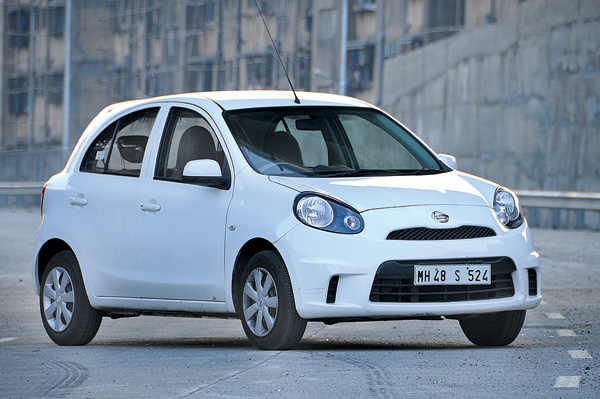 Micra's 1.2-litre engine feels most eager and responsive from slow speeds.