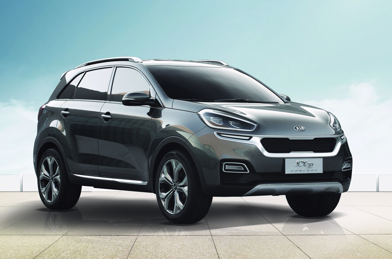 Kia Kx3 Suv Concept Revealed At Guangzhou Motor Show Car