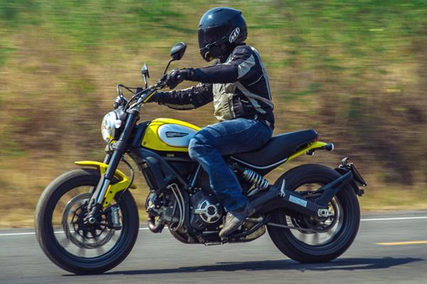 Ducati Scram... Ducati India