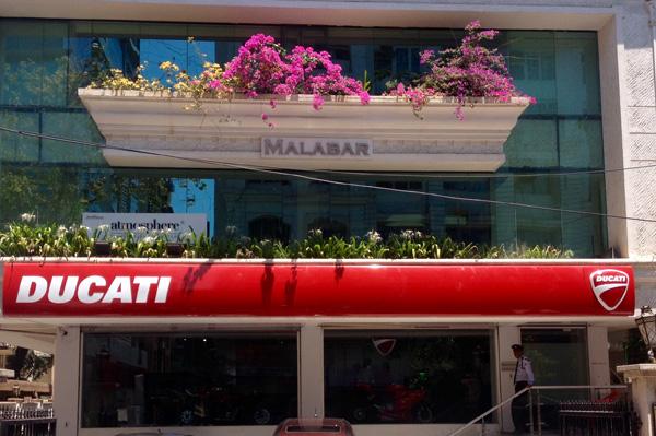 Ducati Showroom In Mumbai Bandra