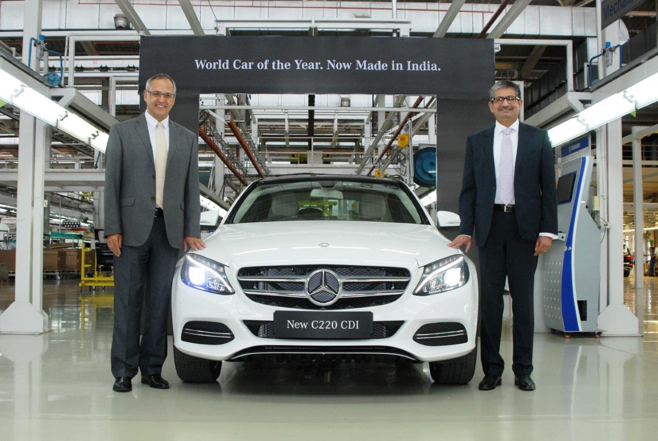 Locally assembled mercedes benz c 220 cdi launched at rs for Mercedes benz prices in india