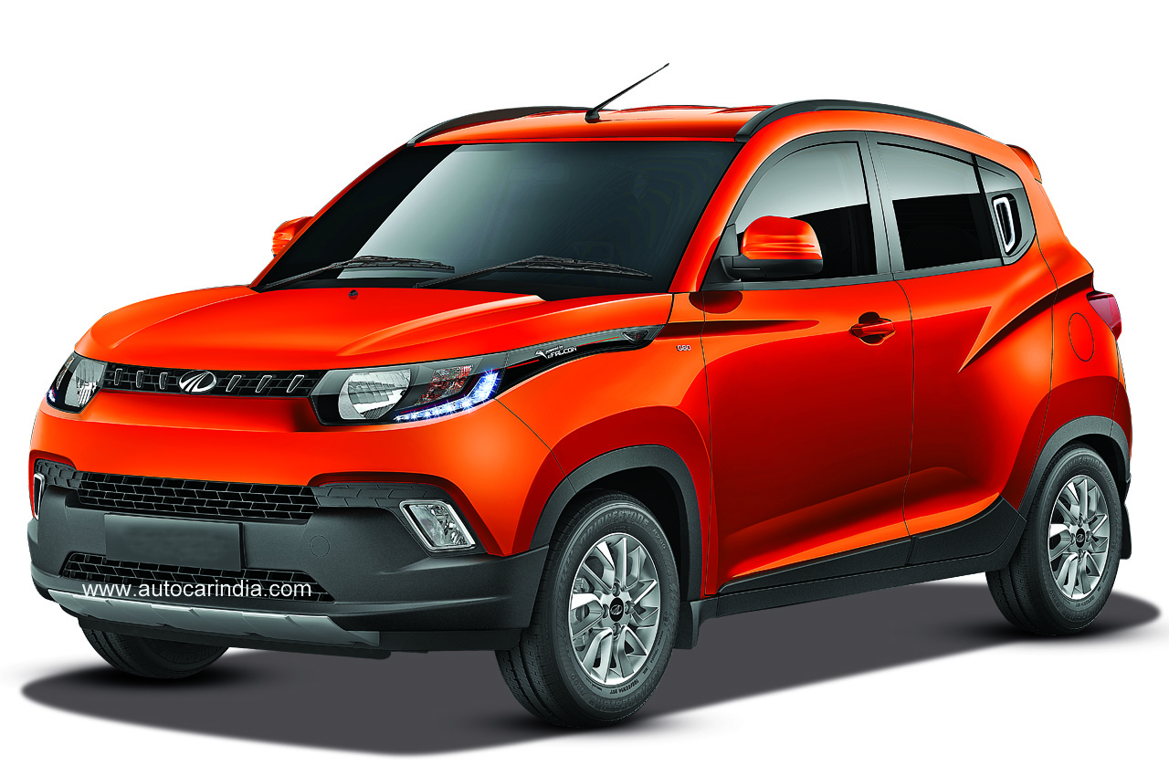Mahindra Kuv100 First Look Car News Budget Suvs
