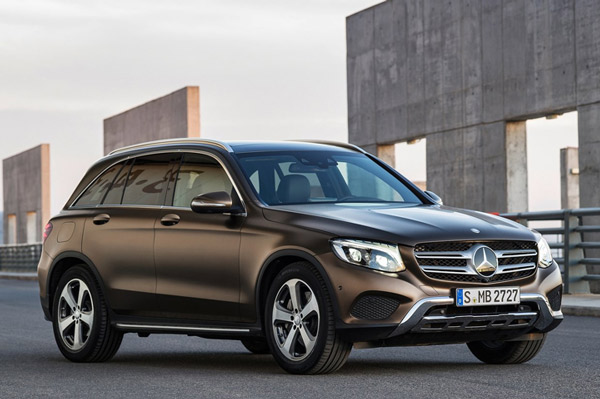 Luxury Vehicle: Mercedes GLC SUV To Launch On June 2, 2016