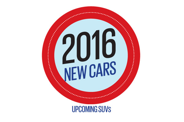 New cars for 2016: SUVs and MPVs