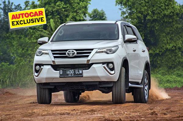 New Toyota Fortuner review, test drive