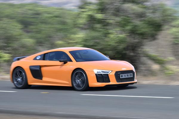 New Audi R8 V10 Plus review, test drive