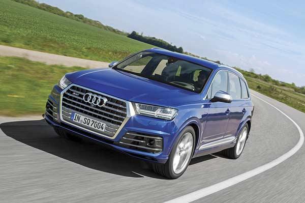 Audi SQ7 TDI review, test drive