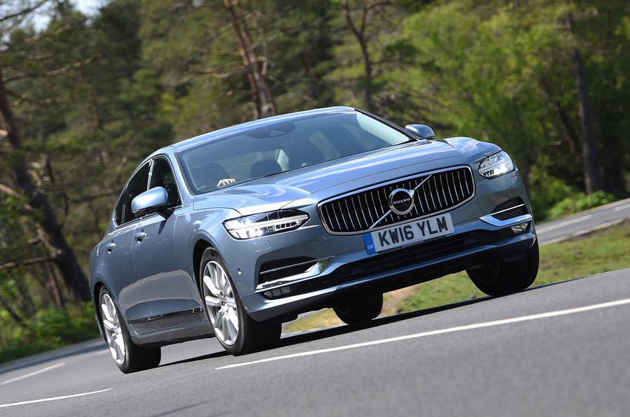Volvo S90 review, test drive