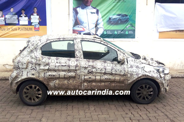 Tata Tiago AMT spied ahead of September launch