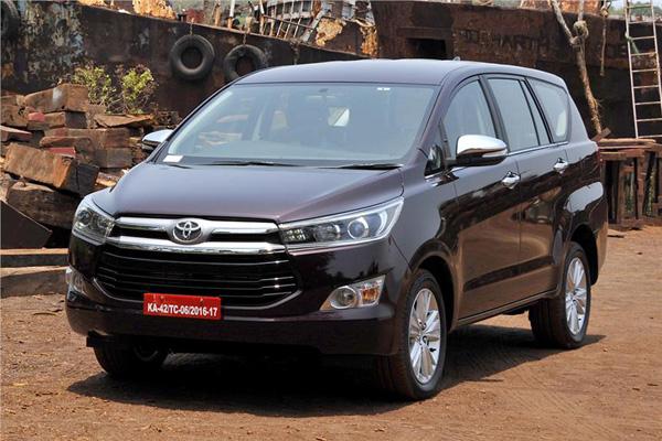 Toyota Innova Crysta petrol bookings open