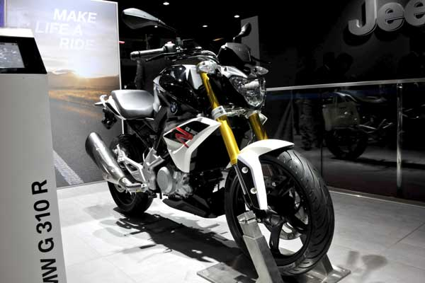 TVS-BMW G 310 R to sport Michelins in India