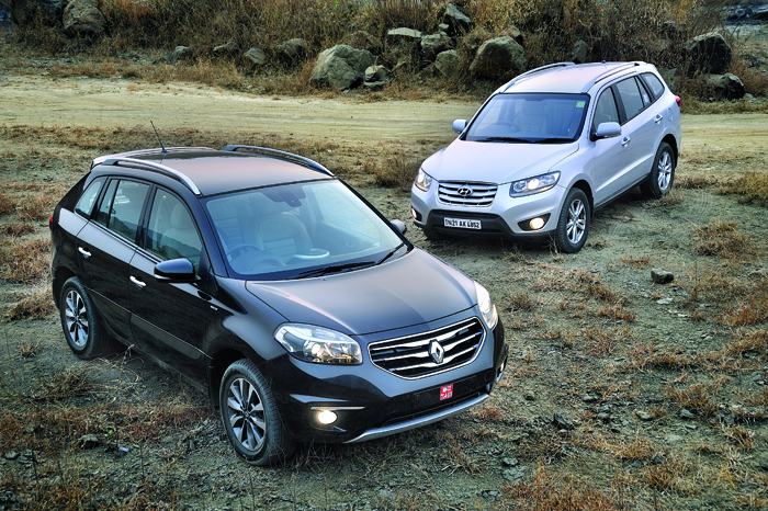 Hyundai Santa Fe vs Renault Koleos | Feature | Autocar India