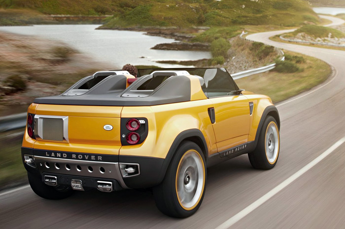 2010 Land Rover DC100 Sport Concept photo - 3