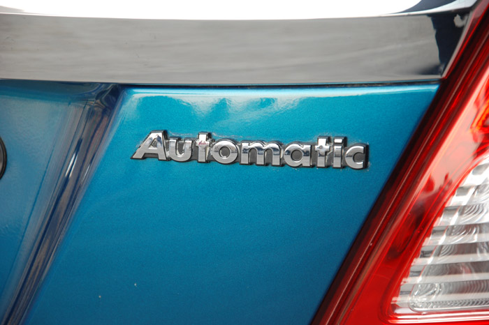 Automatic gearbox available only in the middle-level VXi trim.