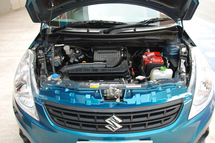 Two engine options – an 86bhp, 1.2-litre petrol and 74bhp, 1.3-litre diesel.