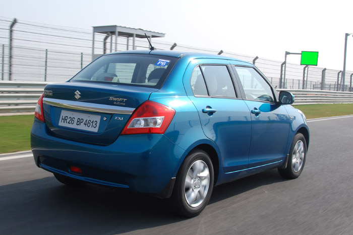 The new Dzire looks more a notchback than a proper saloon.