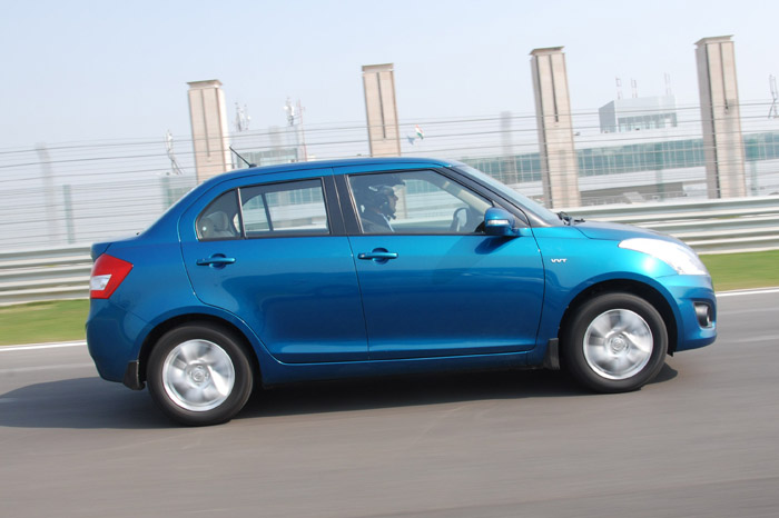 New Dzire is 165mm shorter than the current saloon.