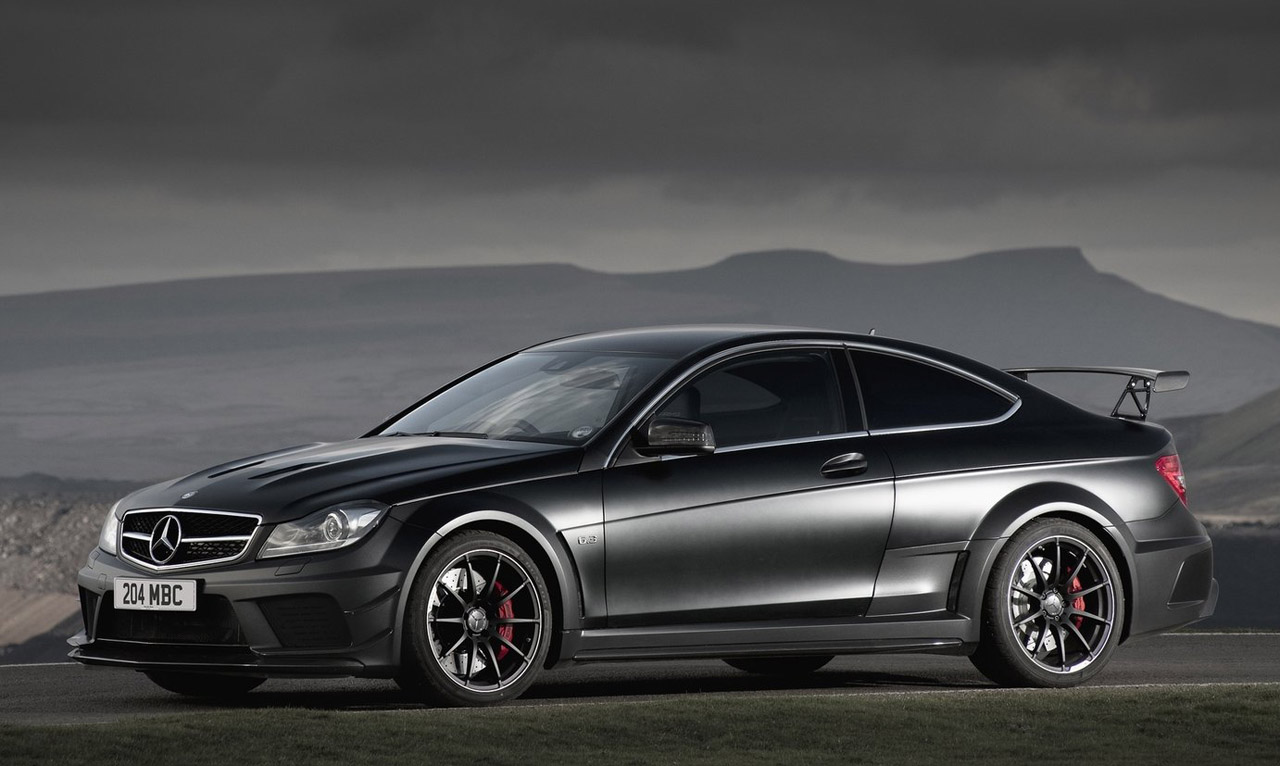 Mercedes c63 amg coupe black series car gallery luxury for Mercedes benz serie x