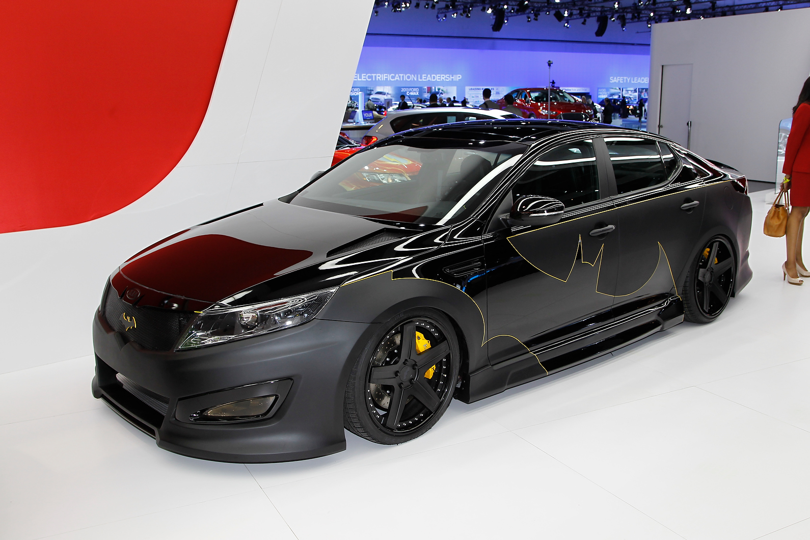 Kia Batman Car
