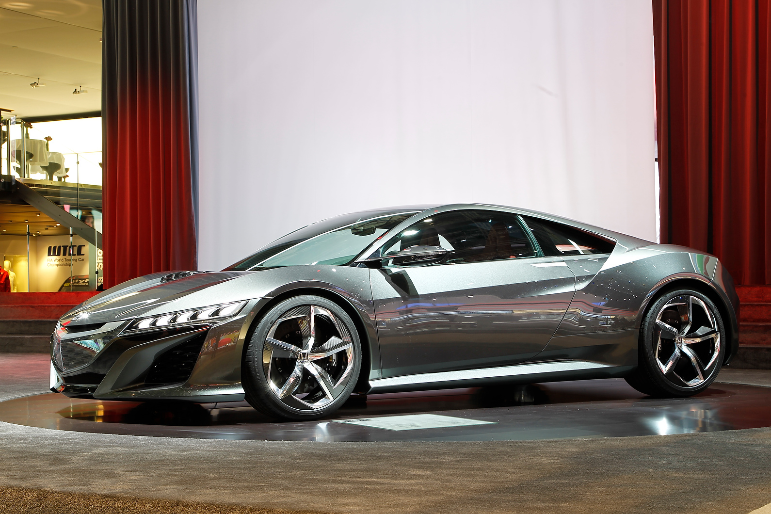 NSX concept badged as a Honda and not an Acura for the first time.