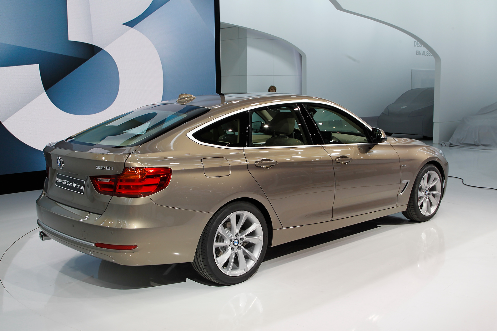 BMW 3-series GT is the first hatchback 3-series since the Compact.