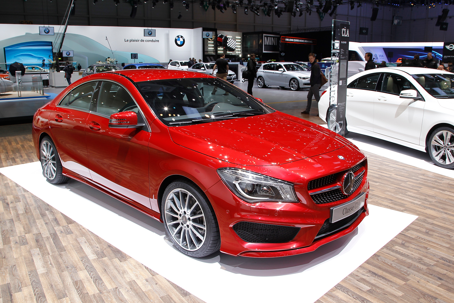 Mercedes CLA is based on the A-class platform and will spawn an AMG version