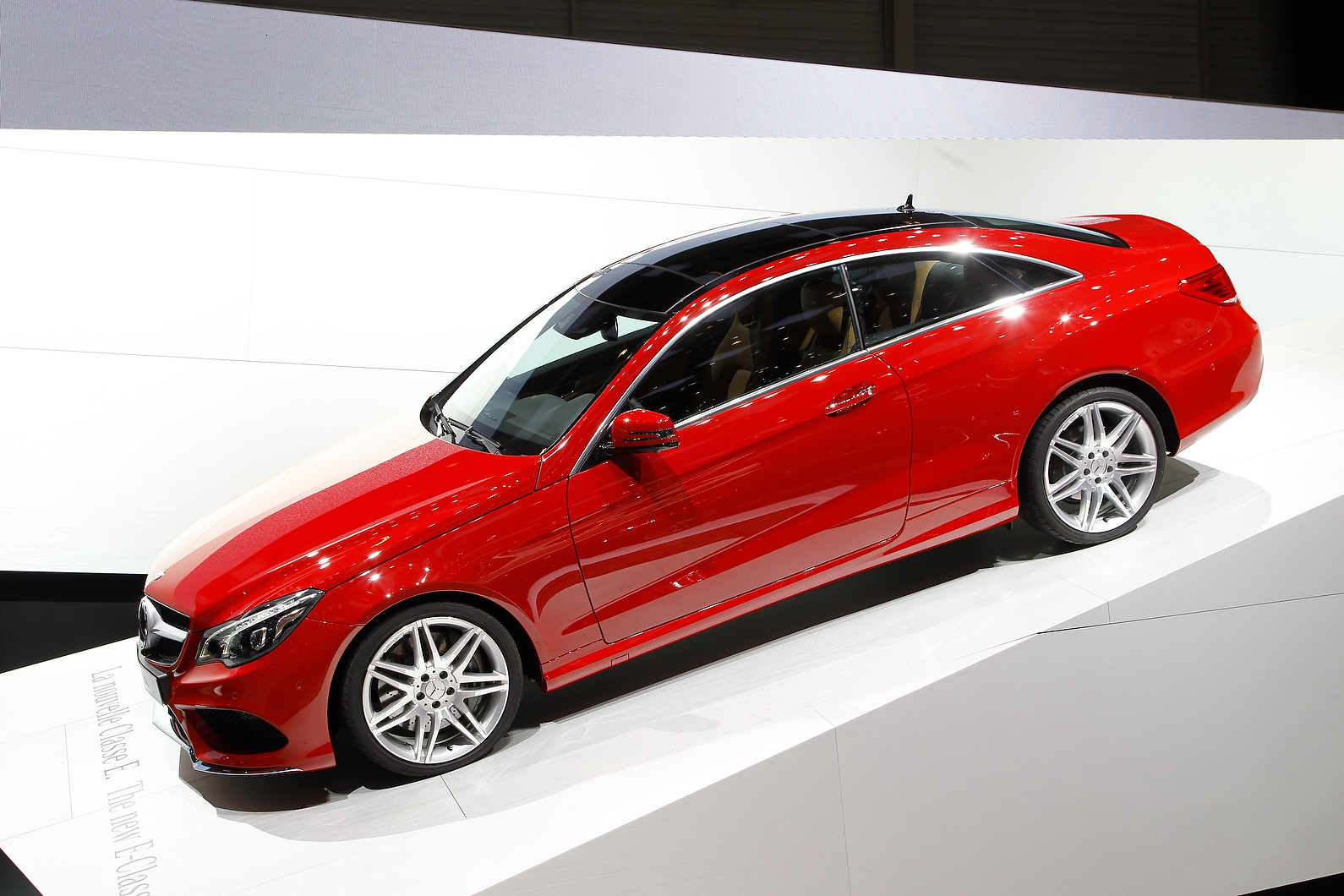 The facelifted E-class has made its European premiere in Geneva