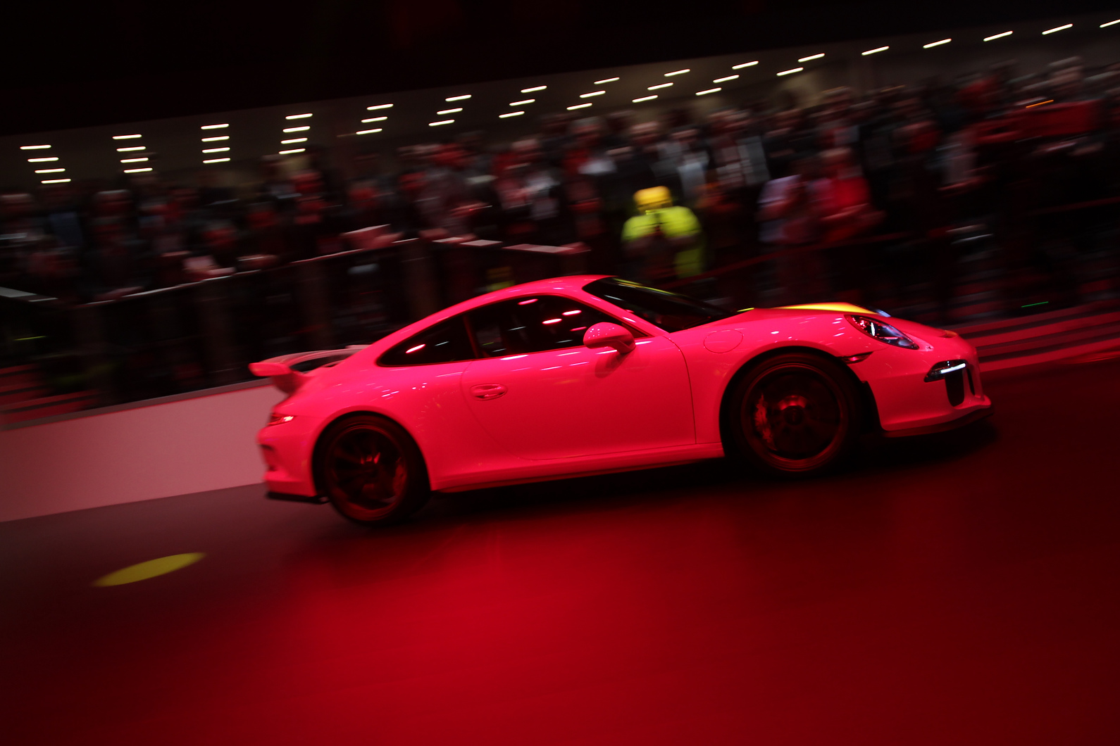 Porsche has heralded the 50th anniversary of the 911 with a new 468bhp race-bred GT3