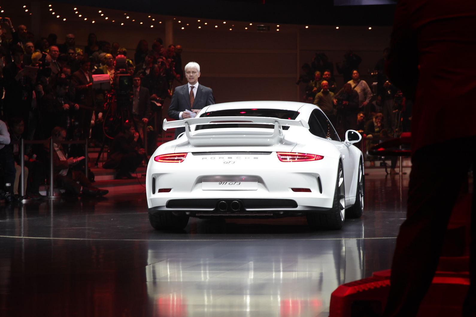 The new Porsche 911 GT3 does without a manual gearbox for the first time
