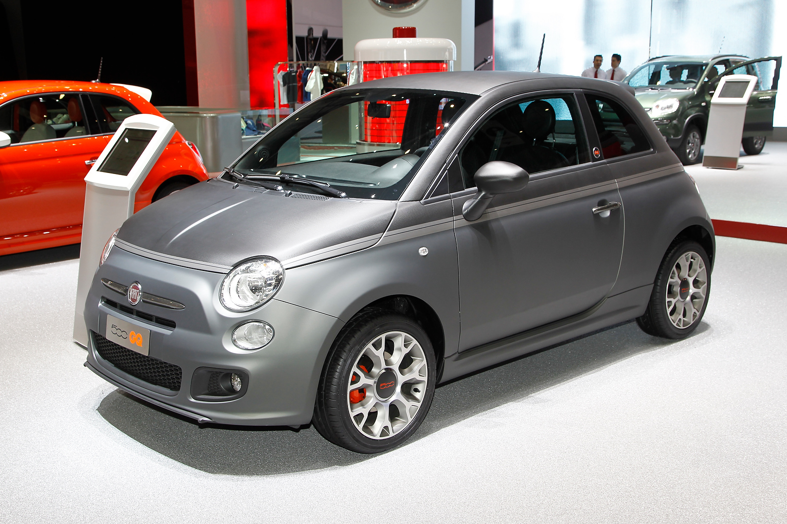 The Fiat 500 GQ is one of a number of special editions of the city car