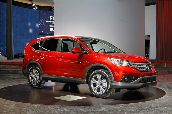 Honda showcased the new CR-V at Geneva powered by a 1.6-litre diesel engine.
