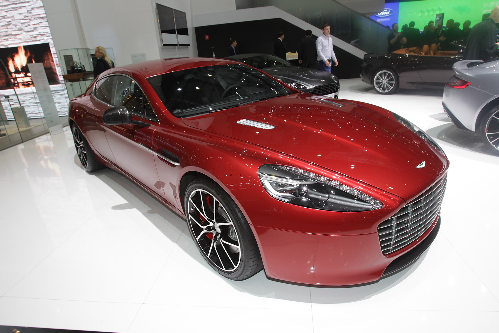 Aston Martin has upgraded Rapide to 550bhp Rapide S