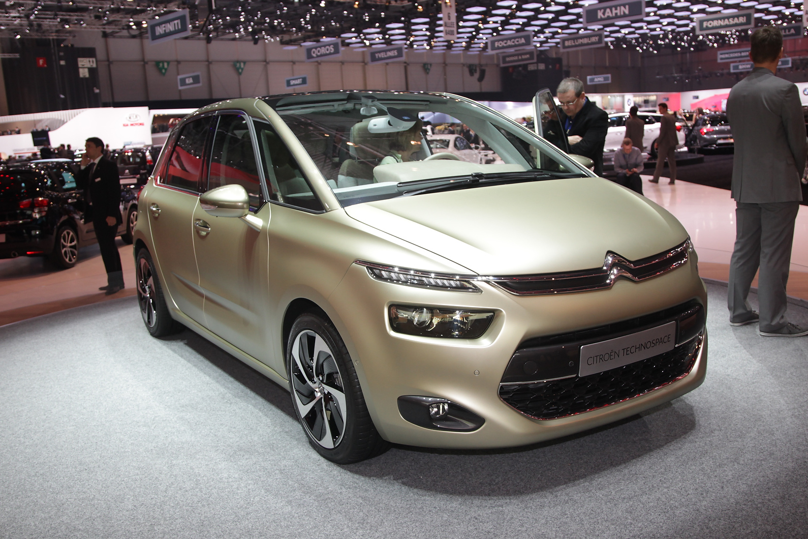 Next C4 Picasso will use Technospace styling cues and be lighter than current car.